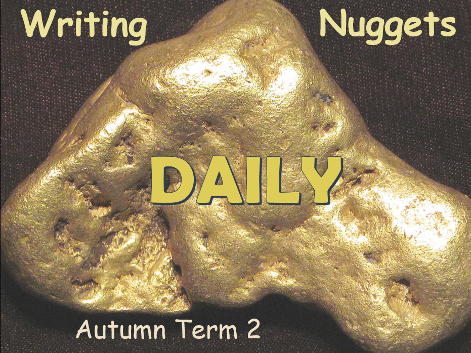 Daily Writing Nuggets with Answers - Autumn Term 2