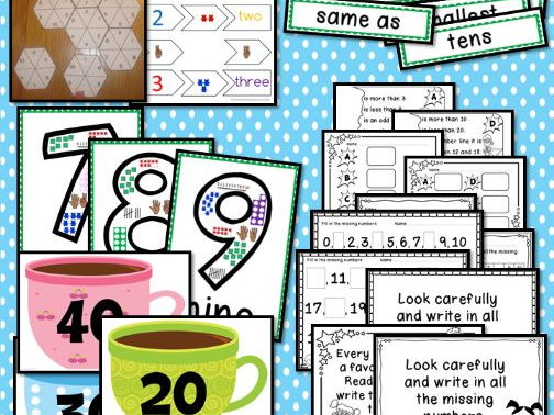 Interactive Place value  Displays & Challenge Table Activities Year 1 Number