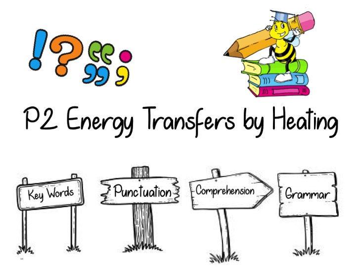Literacy task for AQA P2 Energy Transfers by Heating Revision