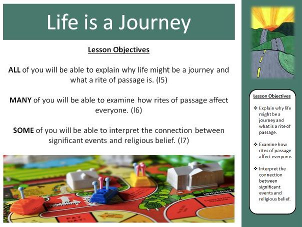 Rites of Passage/Stages of life KS3 TOPIC