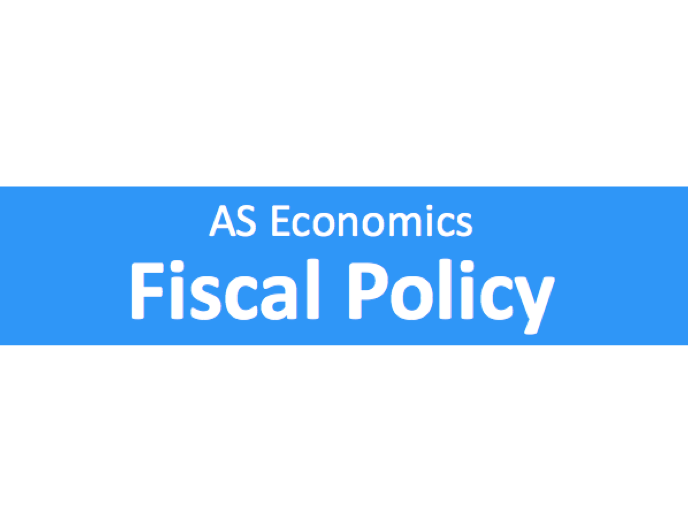 A Level Economics Fiscal Policy