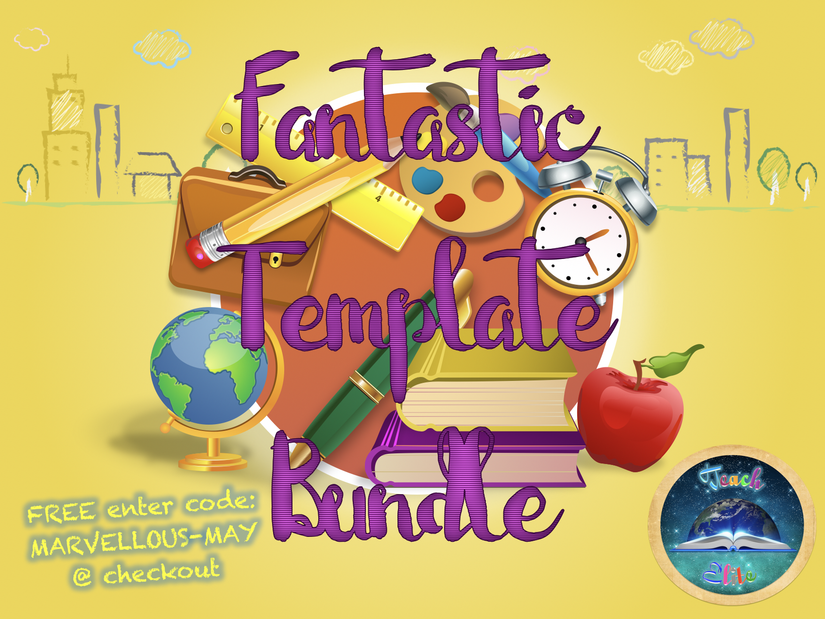 Fantastic Template Bundle. FREE with code: MARVELLOUS-MAY @ checkout