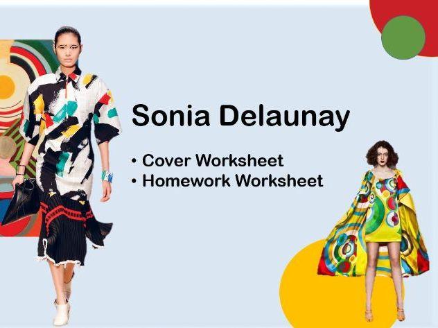 Sonia Delaunay Worksheet