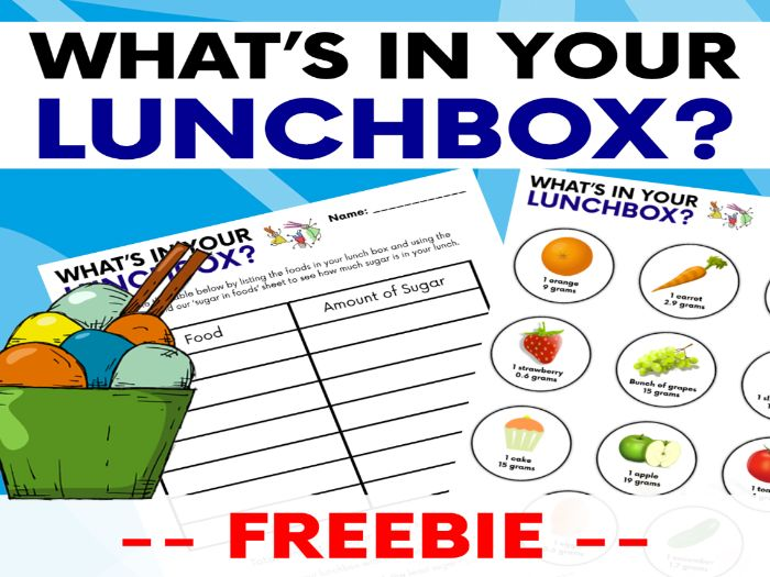 Healthy Eating & Nutrition: What's In Your Lunchbox?