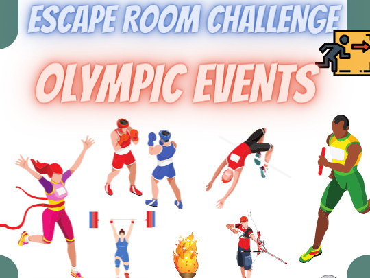 Sports and the Olympics Escape Room