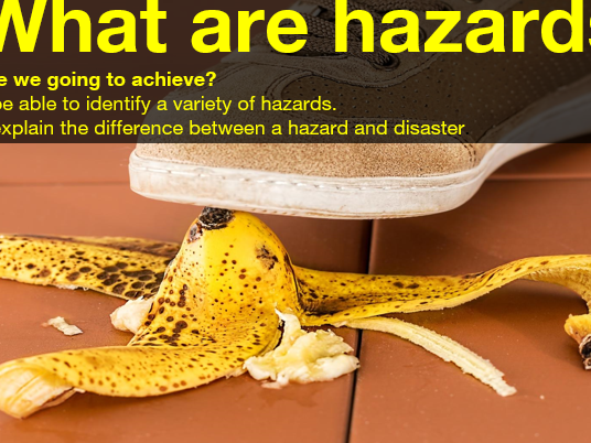 Hazards and Disasters