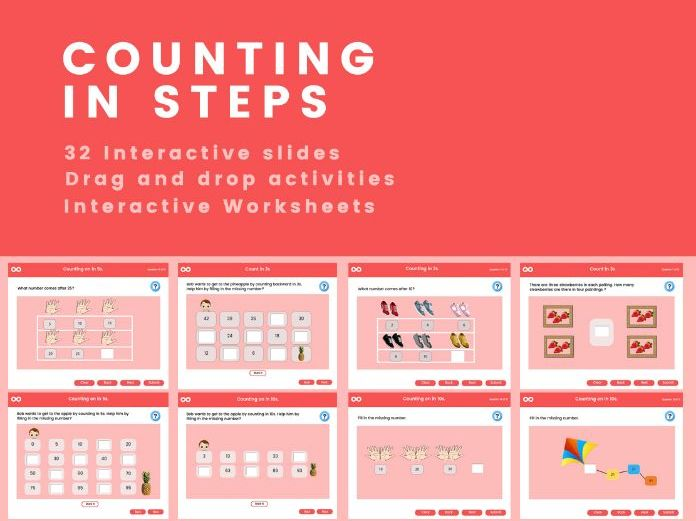 Skip Counting  (2, 3, 5 and 10) - Year 2, Key stage 1