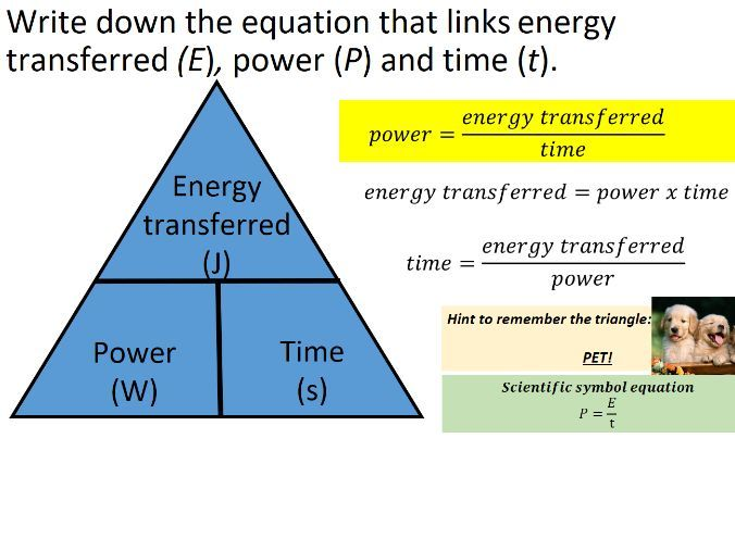 AQA Trilogy Physics Equations Paper 1 Triangles, Rearrangements, Memory Aids