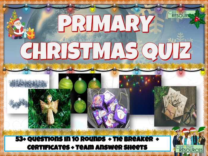Mega Primary Christmas Quiz 2020