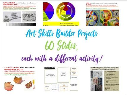 Art -  Complete PowerPoint - 60 Slides!