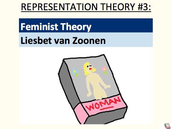 Feminist theory - Liesbet van Zoonen (representation theory #3)