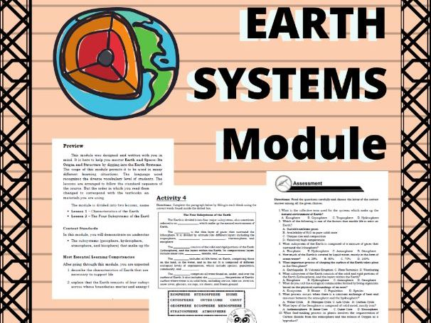 Earth Science Module: Earth Systems