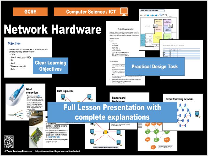 Network Hardware - Introduction to Networks - Computer Science / ICT GCSE - Full lesson