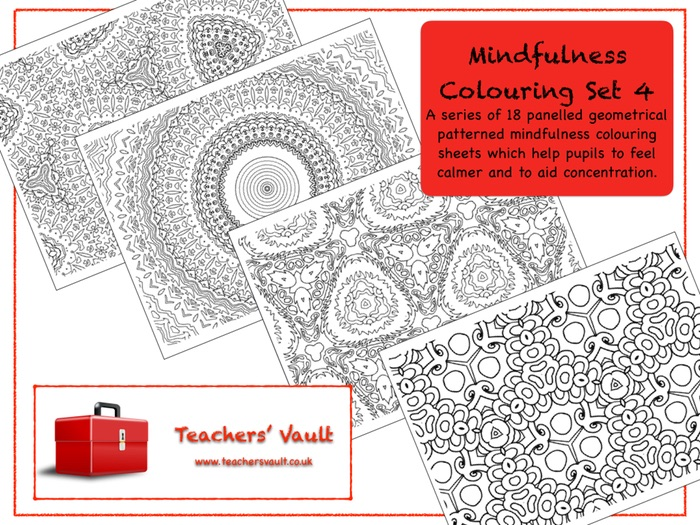 Mindfulness Colouring Set 4
