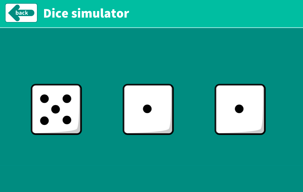 Addition to 10 - Dice Roll Interactive Tool - KS1 Number