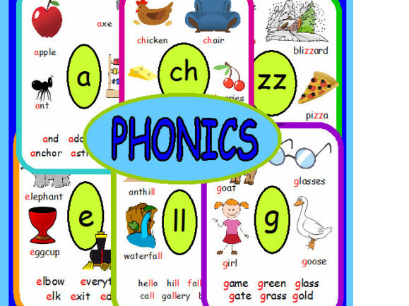 69 Phonic flashcards Letters and Sounds Teaching Programme