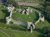 AQA GCSE Historical Environment 2018 - Pevensey Castle Lessons