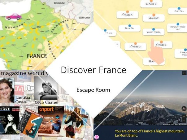 An Introduction to France Escape Room