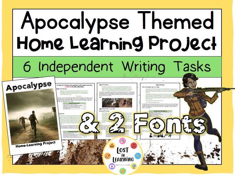 Apocalypse: 6-Week Home Learning Project