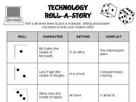 Technology Roll A Story