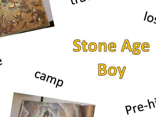 Stone Age Boy word mat