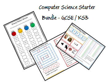 Computer Science Starters KS3 - GCSE
