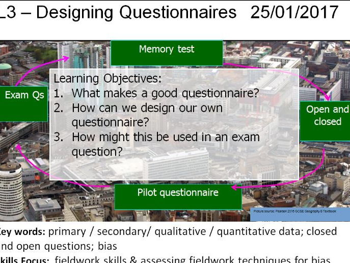 L3 - Designing Questionnaires