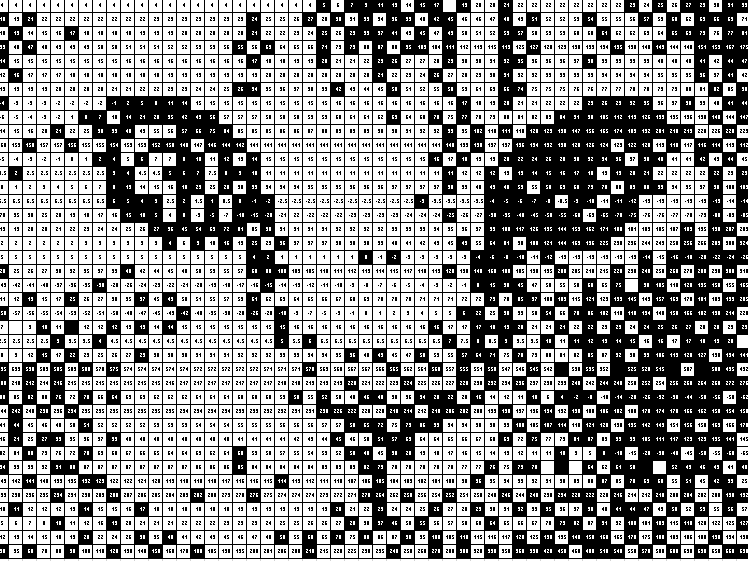 Generating Linear Sequences Pixel Picture