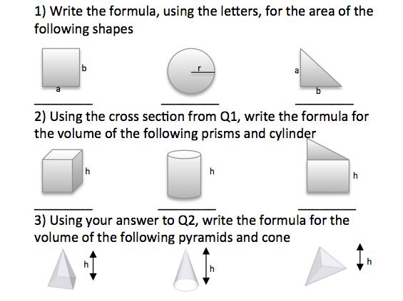 Pyramids Homework