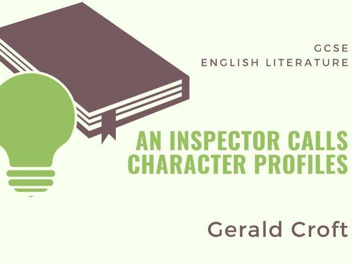 An Inspector Calls - Gerald - Character Profile