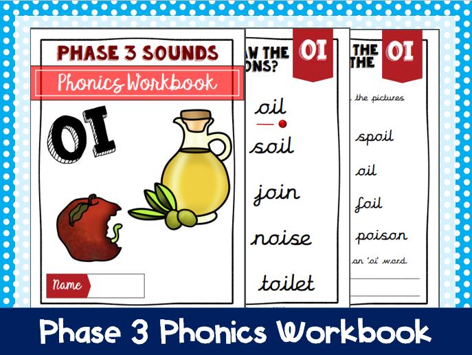 'oi' Phonics Workbook