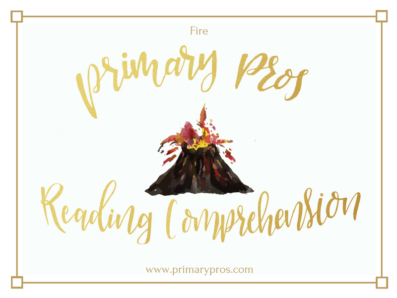 Year 3 & 4 Reading Comprehension - Fire