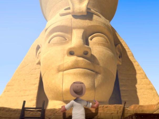 ESL  - Based on the short film EGYPTIAN PYRAMIDS (by Supinfocom Arles)
