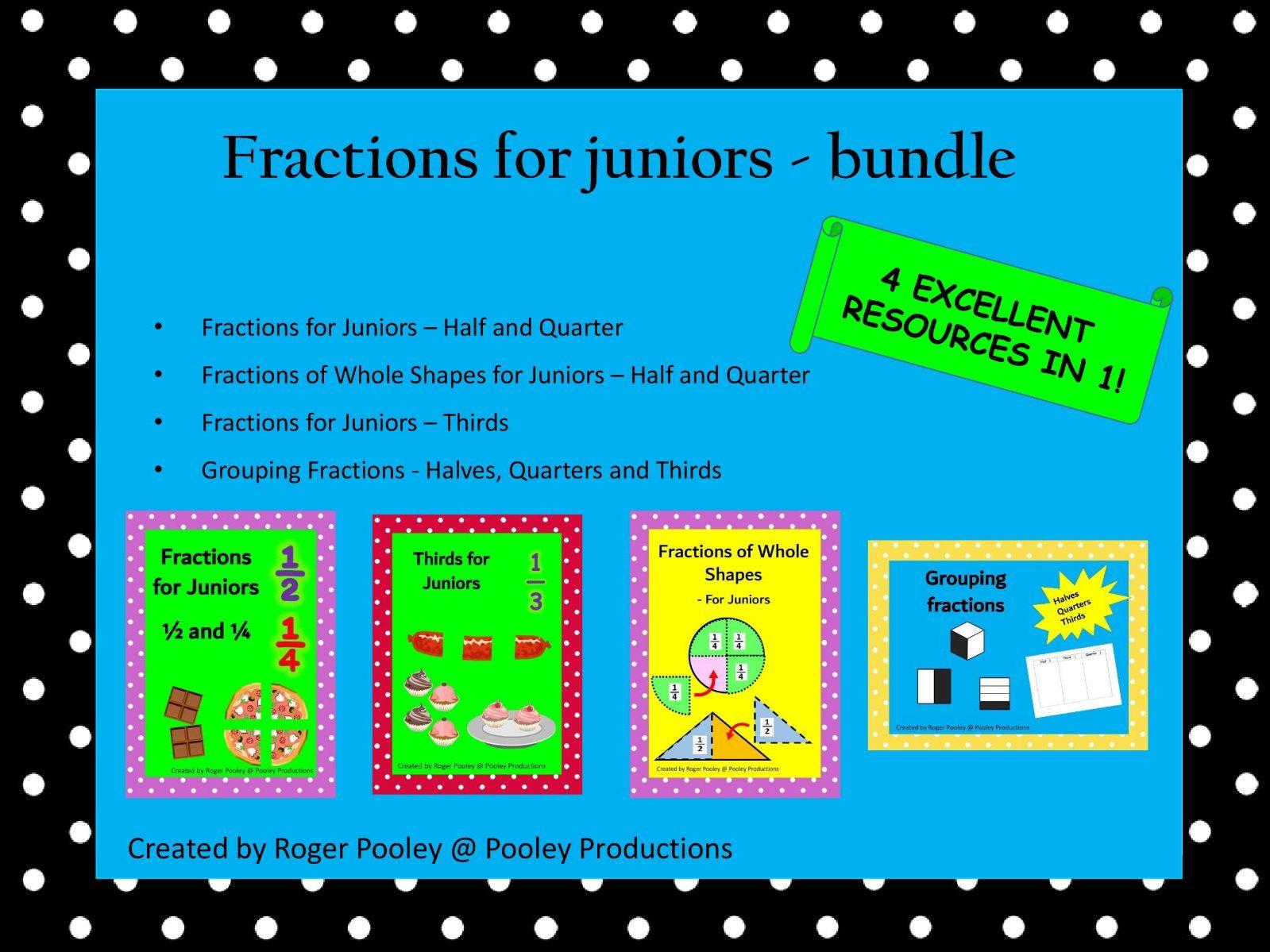 Fractions for Juniors - Bundle