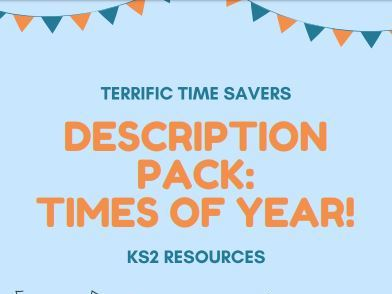 Describing times of the year/special occasions - word mats