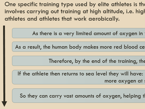 3.1.3.4 - How to optimise training and prevent injury (AQA)