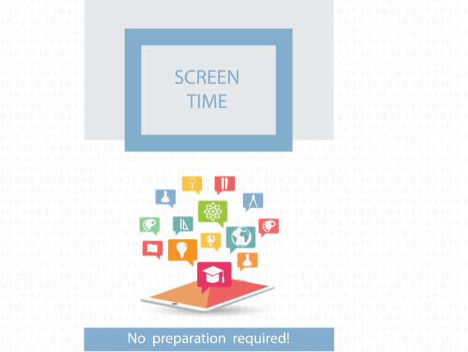 Internet Safety Lesson - Managing screen time