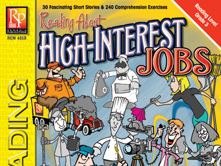 Reading About High-Interest Jobs (Reading Level 3)