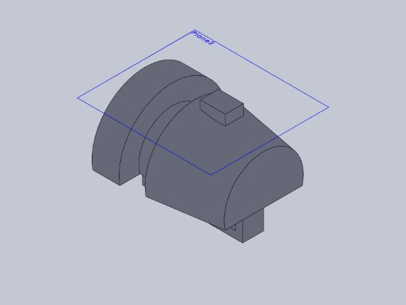 A second CAD Solidworks  tutorial on how to create a bike safety light using revolve profile.