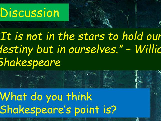 KS3 and 4 Shakespeare Bundle