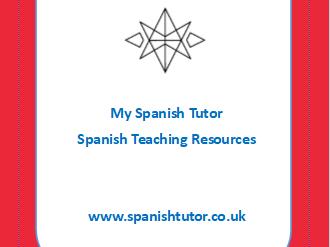New GCSE Spanish Vocabulary Tests - Las Vacaciones