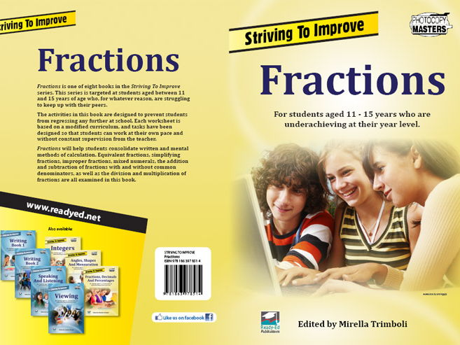 Striving to Improve Series: Fractions (Australian E-book for students at risk)