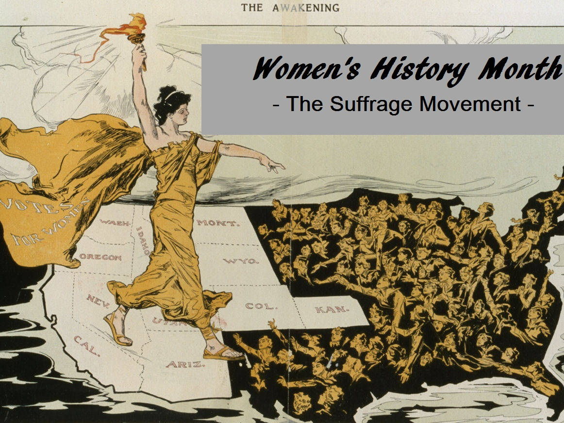 Women's History Month - The Suffrage Movement - Reading ...
