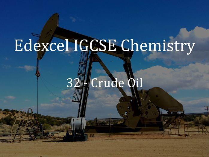 Edexcel IGCSE Chemistry Lecture 32 - Crude Oil