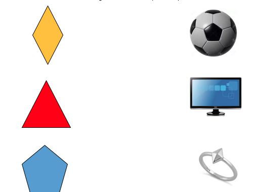 Shapes in the Environment Differentiated Worksheets