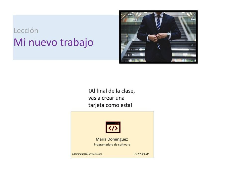 Employment, jobs, professions. Spanish. Year 8 / Year 9.  Presentation, plan, worksheet.