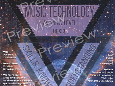A-Level Music Technology Knowledge, Skills & Understanding Poster