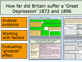 *FULL LESSON* How far did Britain suffer a 'Great Depression' 1873 and 1896? A-Level British History