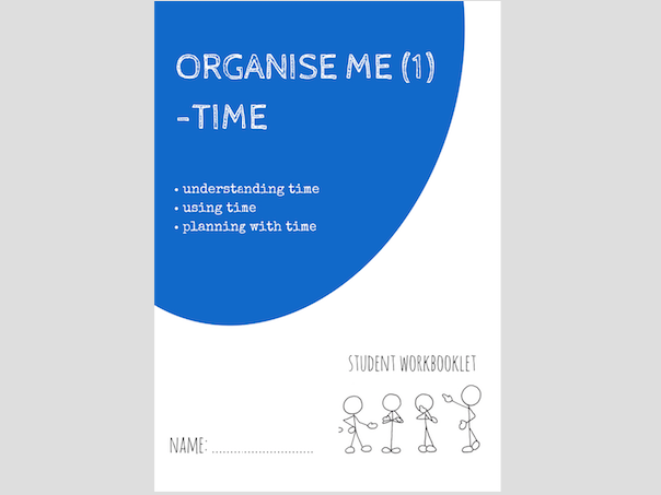 ORGANISE ME (1) - TIME workbooklet