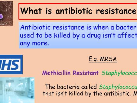 Antibiotics and Resistance GCSE Full Lesson